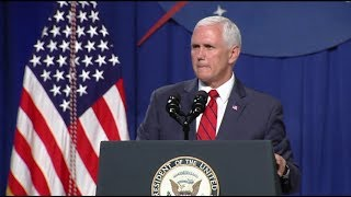 Vice President Pence Visits the Johnson Space Center to Discuss Future Exploration
