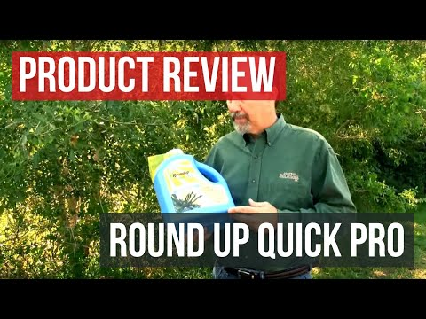 RoundUp QuickPro Herbicide Application and Results (RoundUP QuikPRO)