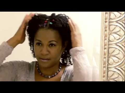 Easy Twist Out for the Holidays