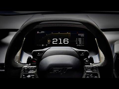2017 Ford GT Instrument Cluster