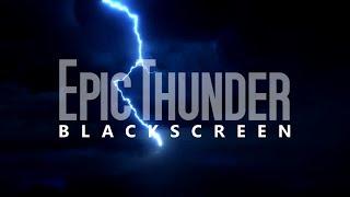 Rain Sounds Black Screen For Thunder Lovers Sleep Relax Meditate ASMR Focus Study
