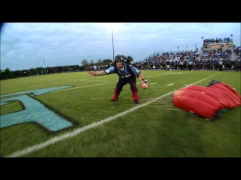 Eastern View High School Parachute Demo-9/16/16
