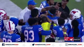 2019 Football Highlights - Tulsa at SMU