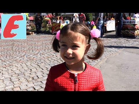 ემილია თბილისობაზე 2017. ვსეირნობთ ძველ თბილისში, ემილია ხვდება პატარა მაყურებლებს