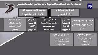 الضمان الاجتماعي يرفع الحد الأدنى لرواتبِ أكثر من 76 ألف متقاعد (26/1/2020)