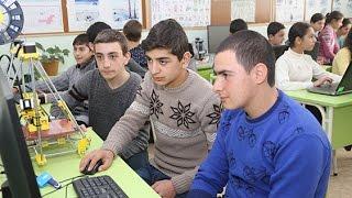 Ռոբոտատեխնիկայով հետաքրքրվող աշակերտների թիվն ավելանում է
