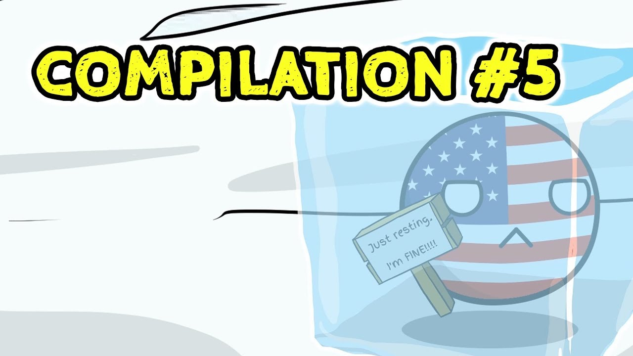 Countryballs Compilation - #5
