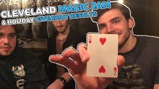 Cleveland Magic Jam | Holiday Giveaway Results | Rick Smith Jr.