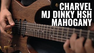 Charvel MJ Dinky HSH Mahogany Demo | Guitar.com
