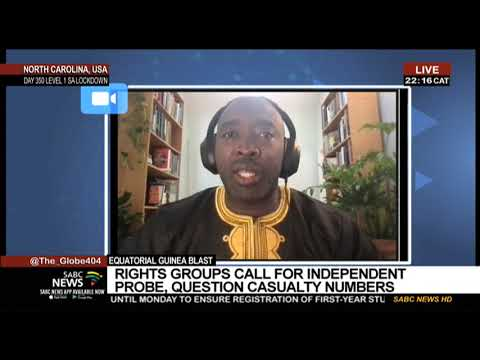 Equatorial Guinea blast   Independent experts need to conduct probe into incident: Tutu Alicante