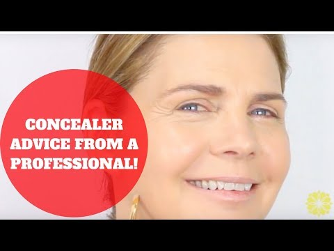 SIMPLE CONCEALER ADVICE FOR OVER 50 MATURE WOMEN