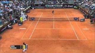 Rome 2014 Final Highlights Djokovic Nadal