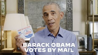 President Barack Obama Shows You How to Vote By Mail | Joe Biden For President 2020