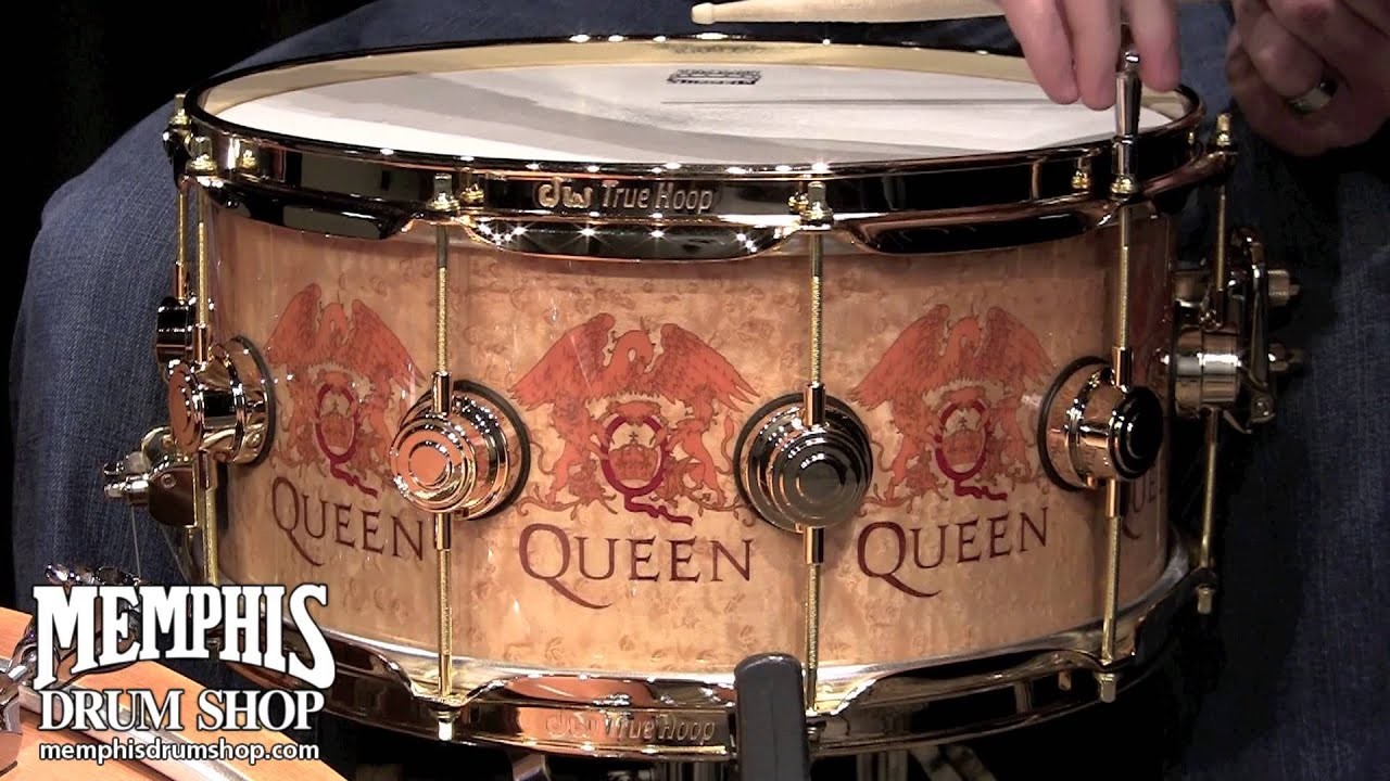 DW Snare Drum – Roger Taylor beyond Queen – solo and with
