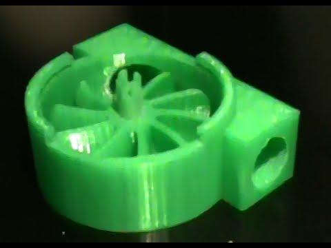 3d Printed Turbine Youtube