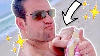 😎 DADDY SON BEACH BONDING! 😍