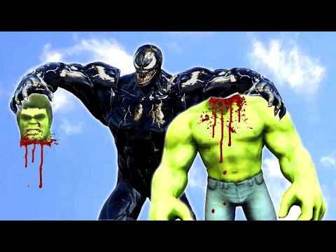 Venom VS Hulk Epic Battle | Grand Theft Auto V