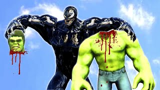 The Incredible Hulk VS Venom