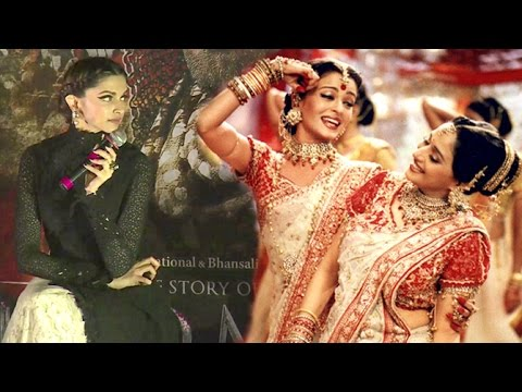 Deepika's SHOCKING Reaction On Pinga Vs Dola Re Dola Song | Bajirao Mastani Vs Devdas