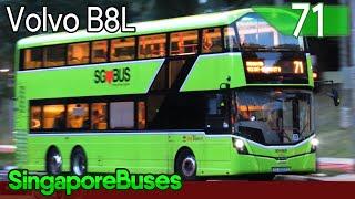 [SBST] Volvo B8L Demo (Wright Eclipse Gemini 3): SG4003D | Service 71 (Singapore Buses)