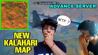 NEW KALAHARI MAP || NEW EMOTES NEW CHARACTER FULL LIVE REACTION|| BEST UPDATE IN FREEFIRE