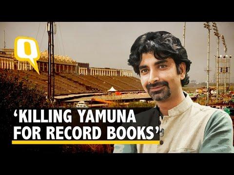 Art of Living Kills Yamuna For The Record Books: Environmentalist