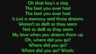 Arctic monkeys - Fluorescent adolescent lyrics