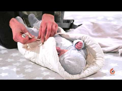 How to Use Infant Insert | 360 Baby Carrier | Standing | 2014 | Ergobaby