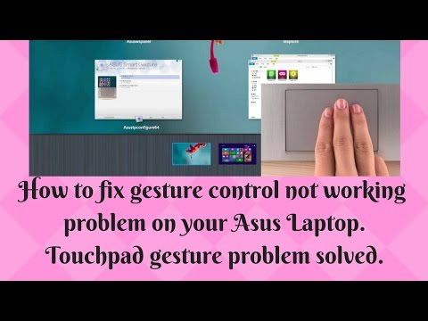 Enable two finger scrolling for Asus laptops#Asus smart
