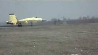 China's New J-15 Carrier-Based Fighter Flight Test Leaked Video