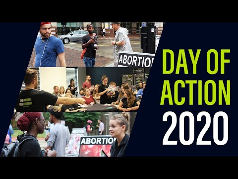 Announcing Created Equal's 2020 Day of Action!