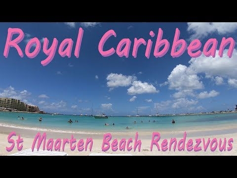 Royal Caribbean Freedom of the Seas Excursion - St Maarten Beach Rendezvous