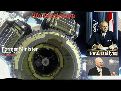 Ufo DISCLOSURE  Paul Hellyer Former Canada Defense Minister Aliens Could share more TECH with us