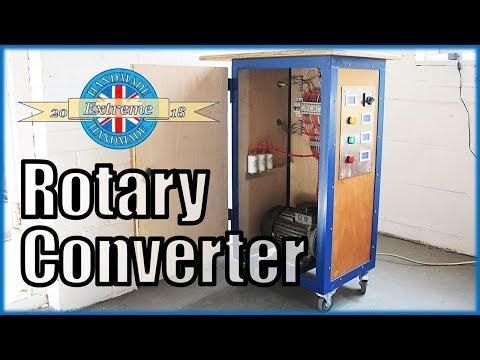 1 Phase to 3 Phase Rotary Converter - 230V to 415V
