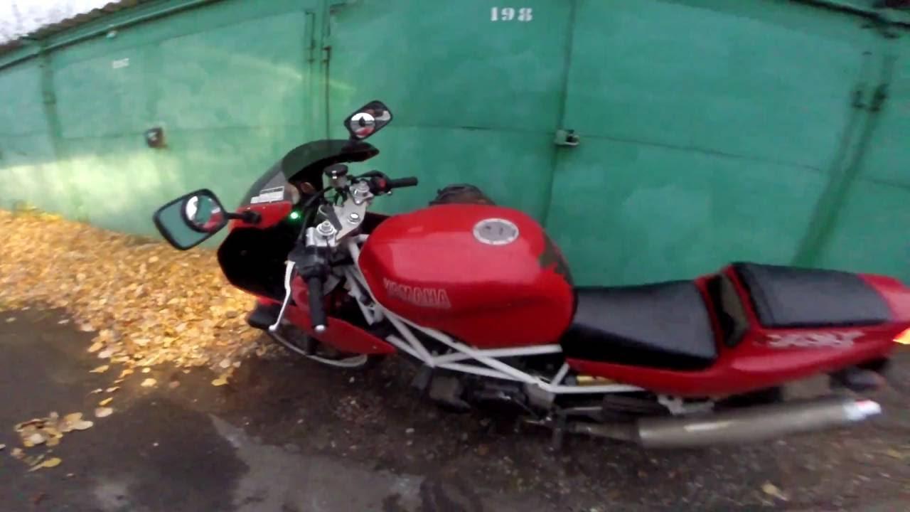 Покупка Б\У Мотоцикла 17.10.16 Yamaha TRX 850 - YouTube