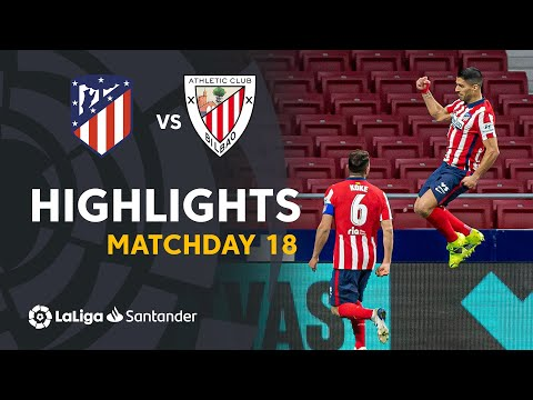 Atletico Madrid Ath. Bilbao Goals And Highlights