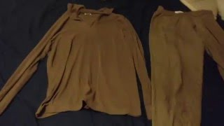 Military issue long johns review