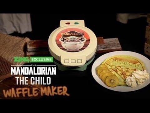 Star Wars - The Mandalorian - The Child Waffle Maker - Video