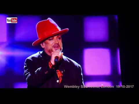 Boy George   Karma chameleon HD  Wembley SSE Arena, 19102017