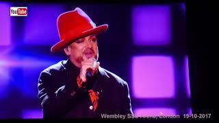 Boy George live - Karma chameleon (HD) - Wembley SSE Arena, 19-10-2017