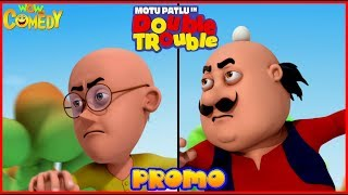 Motu Patlu | Double Trouble Movie Promo | Cartoon in Hindi | Diwali 2018