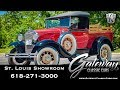 1930 Ford Model A Pickup  Gateway Classic Cars St. Louis   #8121
