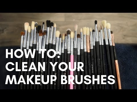 HOW TO: Clean Your Makeup Brushes | Sigma Brush Cleaning Products