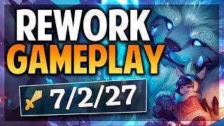 ¡NUNU REWORK GAMEPLAY! | IMPOSIBLE ESCAPAR DE ESTO! | League of Legends