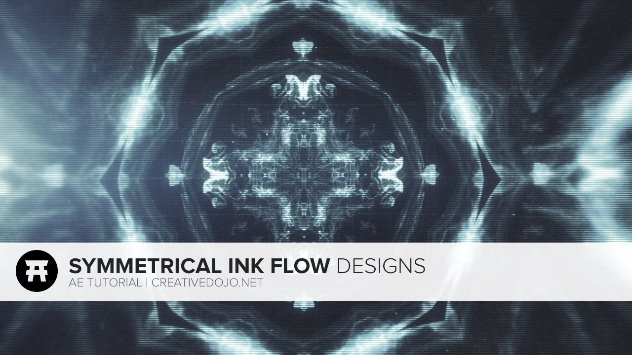 After Effects: Symmetrical Ink Flow Designs (Free Stock Footage by  RodyPolis)