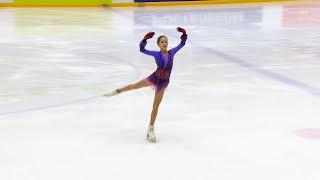 Произвольная программа Девушки Кубок России по фигурному катанию 2020 21 Четвертый этап
