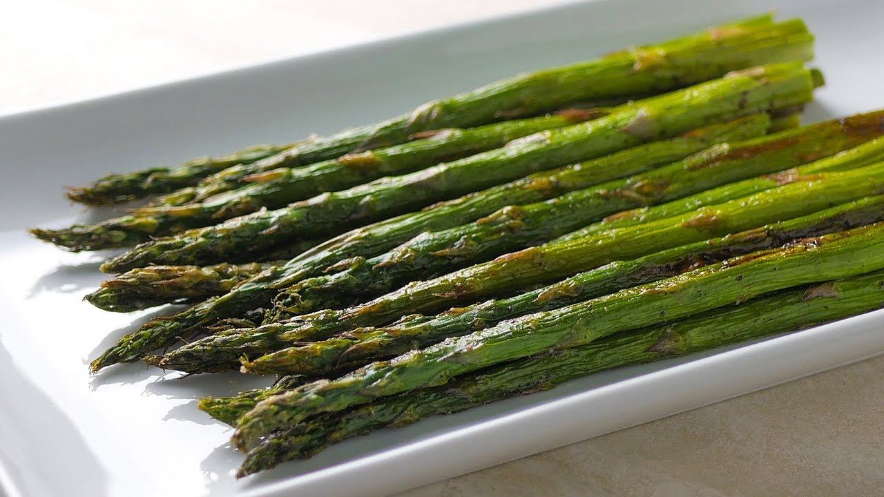 How To Make Oven Roasted Asparagus Youtube