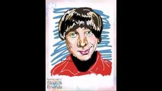 How to draw Howard Wolowitz from The Big Bang Theory! Speed drawing of Howard Wolowitz.