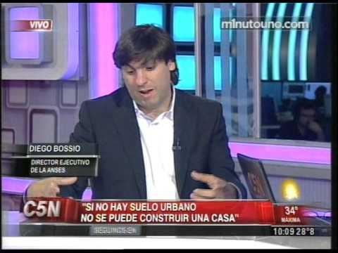 C5N - POLITICA: ENTREVISTA A DIEGO BOSSIO EN MAÑANAS ARGENTINAS (PARTE 1)