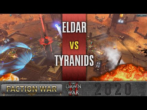 Dawn Of War 2 - Faction Wars 2020   Eldar V Tyranids